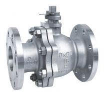 Flanged Ball Valve With Top Mounting Pad, Float Ball Valve Q41F