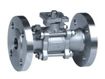All-nominal Three-Sheet Hoop Stainless Steel Ball Valve Q41F-MP