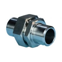Metric Thread O-Ring Face Seal Pipe Fitting, Hydraulic Pipe Fitting, Metric Male O-Ring / Butt-Weld Tube Fitting 1EW