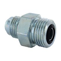 JIC Male 74 Degree Cone/ ORFS Male Cone Flared Tube Fitting 1JF, Hydraulic Pipe Fitting, Adapter, Hex Nipple