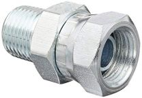NPT Male / NPSM Female 60 Degree Cone 2NU, NPSM Fitting, Hydraulic Pipe Fitting, Adapter, Hex Nipple, Swivel