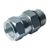 SAE O-Ring Boss S-Series ISO 11926-2 /ORFS Female 2OF, Hydraulic Pipe Fitting, Adapter, Hex Nipple, Swivel