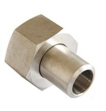 Metric Thread O-Ring Face Seal Pipe Fitting, Hydraulic Pipe Fitting, Butt-Weld Tube / Metric Female O-Ring Pipe Fitting Adapter 2WE