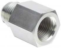 JIC Male 74 Degree Cone/ BSP Female Cone Flared Tube Fitting 5JB, Hydraulic Pipe Fitting, Adapter, Hex Nipple