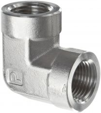 90 Degree Elbow BSP Female ISO1179 7B9-PK, BSP Thread 60 Degree Cone Fitting, Hydraulic Pipe Fitting, Adapter