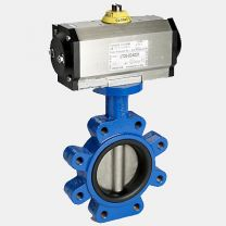 Pneumatic Operated Concentric Wafer Butterfly Valve- D67L1X
