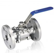 All-nominal Three-Sheet Hoop Stainless Steel Ball Valve Q41F3P