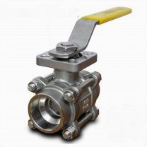 Three-block Socket Weld Ball Valve With Direct Mounting Pad Q61FSW