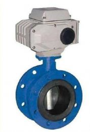 Flange Type Electric Operated Concentric Wafer Butterfly Valve- D941X